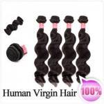 cabelo humano da onda fraca brasileira de 100g 1pc