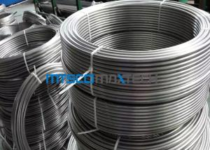 China TP316 / 316L Stainless Steel Coiled Tubing Seamless For Instrument ASTM A213 on sale