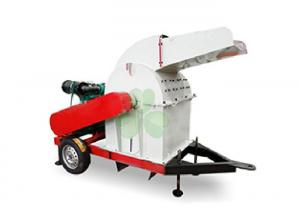 China Energy Saving Grass Crusher Machine / Industrial Wood Pallet Crusher 4pcs Blades on sale