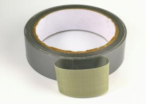 China Silver Color Hot Melt Duck Duct Tape For Plastic Mulch Edge Banding on sale