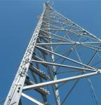 Angle Steel GSM Telecom Communication Self Supporting Antenna Tower
