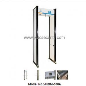 China High quality Acrylic Security checking body scanner door,walk through metal detector door on sale