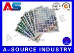 Secure  Printed Self Adhesive Stickers Labels Vinyl Printing With Serial Number