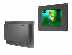 China Marine Wall Mount Touch Screen PC 1000 Nits Brightness Projected Capacitive Touch on sale