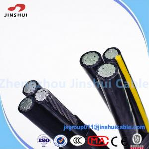 China High Voltage Power Transmission Cable , 0.6 / 1KV Aerial Bunched Conductor ASTM B-232 on sale