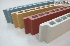 Quality Terracotta Panel Rainscreen Facade Systems 30mm Thickness With Cold Resistance for sale
