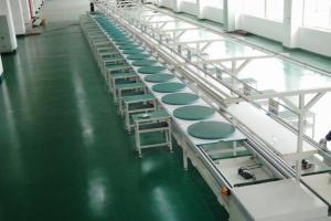 China Anodized Aluminium Profile / LED Street Lamp Panle Light Assembly Line / Production Line on sale