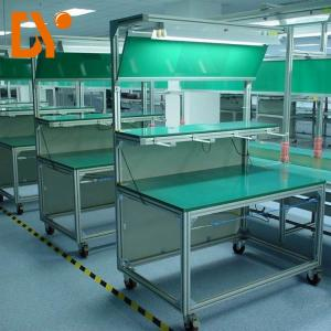 China Aluminium Profile Esd Work Table , Anti Static Bench Customized Color on sale