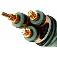 China 6/10KV Low Smoke Halogen Free Cable , Low Smoke And Fume Cable Steel Tape on sale