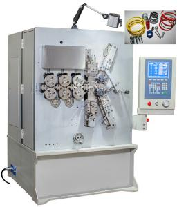 China 2.00 - 6.00mm Five Axis CNC Coil Spring Machine With Servo Motion System on sale