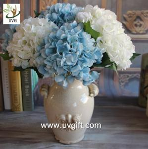 China UVG FHY25 decoration of houses interior wholesale artificial hydrangea flowers for parties on sale