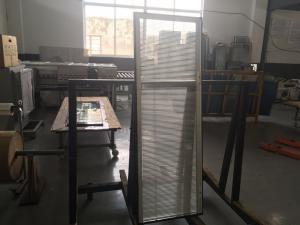 China Anti Theft Vertical Blinds For Sliding Glass Doors Window Sound Insulation on sale