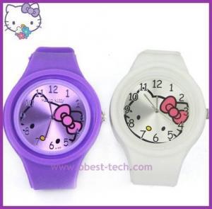 China Fashion ODM silicone jelly watch on sale