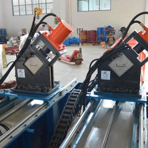 China Steel Guide Rail Roll Forming Equipment Chain Drive Cassette Type CE Approved on sale