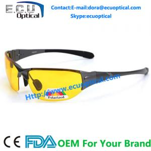 China 2014 new arrival yellow lens driving night polarized sunglasses for day night and dim weather on sale