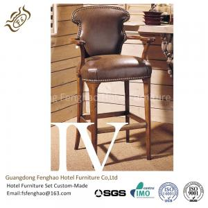 Quality Stackable Wooden Tall Hotel Bar Stools High End Contemporary  Counter Stools For Sale
