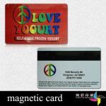 金の熱い押すことのCMYK Travellポリ塩化ビニールの磁気ストライプ カード