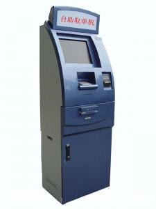 China Floor Standing Currency Exchange Kiosk with bill acceptor and coin hopper on sale