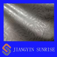 Environmental Plain Weave PVC Artificial Leather , Synthetic Leather For Upholstery