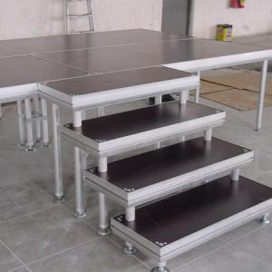 China Alloy Assembly Portable Stage Platforms For Sound System And Dj Equipments on sale