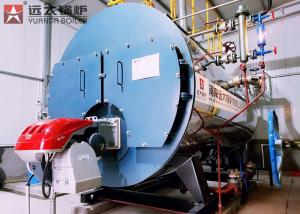 10 Ton Gas Fired Industrial Steam Boiler Wns Series For