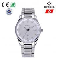 Promotion Gifts Stainless Steel Male Watches , Business Wrist Watch