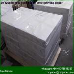 China hot sale offset printing paper woodfree printing paper wholesale