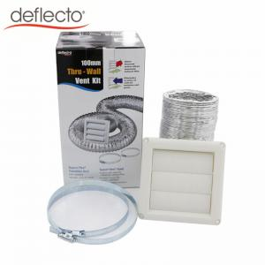 China Bathroom Venting Dryer Vent Duct Cleaning Kit / Aluminum Flexible Air Duct on sale