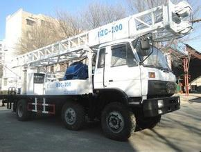 China truck-mounted well drilling rig china supplier on sale