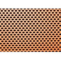 Customized Size Perforated Metal Cladding Panels Galvanized Metal And SS Sheet