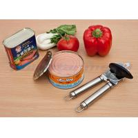 Anti Scratch Stainless Steel Kitchen Tools , Safety Stainless Steel Manual Can Opener