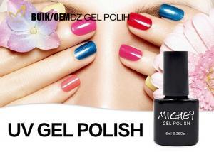 China Private Label Non Toxic Gel Nail Polish , Uv Gel Nail Varnish Good Adhesive on sale