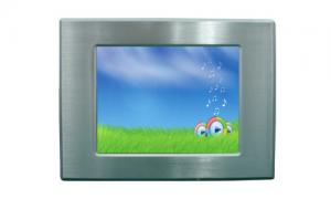 China 12.1 Multi Touch Panel PC , Mini Touch Panel PC  Intel Atom 1.6ghz N270 Fanless on sale