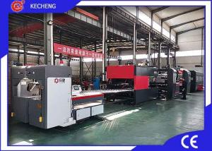 China Bottom Printing Gluer Inline Flexo Printer Slotter Die Cutter on sale