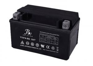 China AGM Valve Regulated Lead Acid Motorcycle Battery 12V 7.0AH High Performance on sale