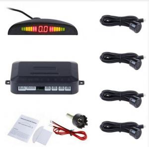 China Car Auto Parktronic LED Parking Sensor With 4 Sensors Reverse Backup Car Parking Radar on sale