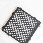 Diamond Hole Stainless Steel Perforated Plate Good Sound Absorption Effect