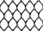 High Standard Black Plastic Mesh Netting Diamond Hole Rust Resistance For Garden