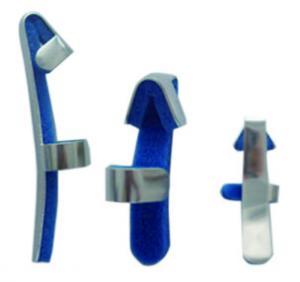 China Bendable Padded Medical Finger Splint Baseball Finger Immobilizer Splint on sale