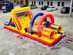 Interactive Challenge Kids Adult Inflatable Obstacle Course Bounce House Rentals