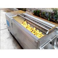 China Carrots / Sweet Potato Washer, Tumbled Rubbed Fruit Vegetable Washer Machine on sale