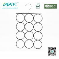 Betterall Unique Holey PVC Metal Hanger for Ties or Scarves