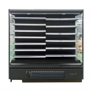 China Commercial Upright Supermarket Open Display Fridge with Adjustable Shelving on sale