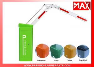 China Servo Motor Smart Parking Barrier 180 Degreen Folding Arm with Remote Control on sale