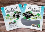 Pistachio Nut Custom Food Packaging Bags / Heat Seal Zip Pouch With Gravure Printing