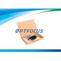 10Gbps Optical Fiber Network Card Single Port SFP Slot LC Fiber 10km