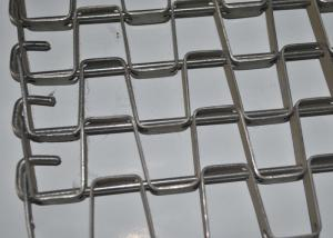 China 304 Stainless Steel Honeycomb Wire Mesh Conveyor Belt For Food Cooling And Freezing on sale