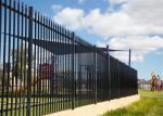 Reúna la cerca de acero del listón de la cerca de acero tubular de la cerca, cerca de Hércules, cerca tubular de acero, cerca de la guarnición