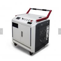 China Portable Laser Cleaning Machine / High Power Hand Held Laser Rust Removal Tool on sale
