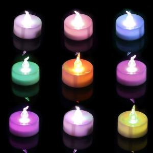 China Multi - Color LED Battery Operated Candle Lights For Indoor And Outdoor on sale